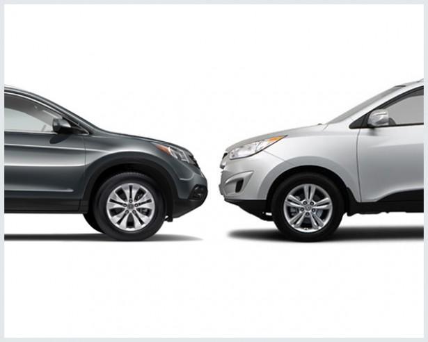Honda CR-V Vs. Hyundai Tucson