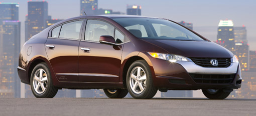 Honda FCX Clarity production fuel-cell car announced