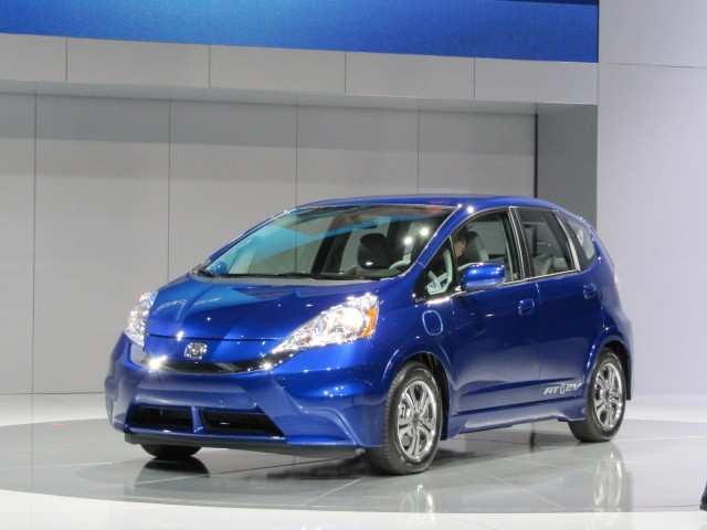 Honda Fit EV shown at Los Angeles Auto Show, Nov 2011