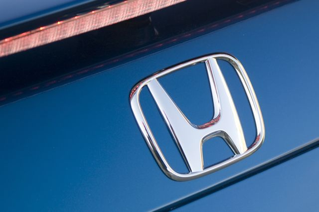 Honda Logo on Civic Si Coupe