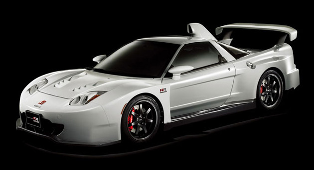 The Mugen NSX RR does not have a powertrain as it was created purely as a show car