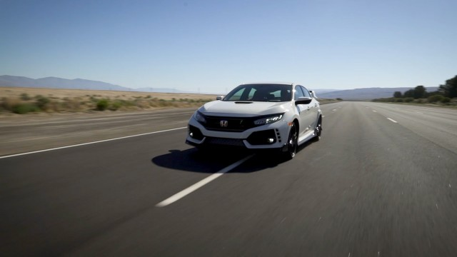 Honda Proving Center (HPC) near Cantil, California