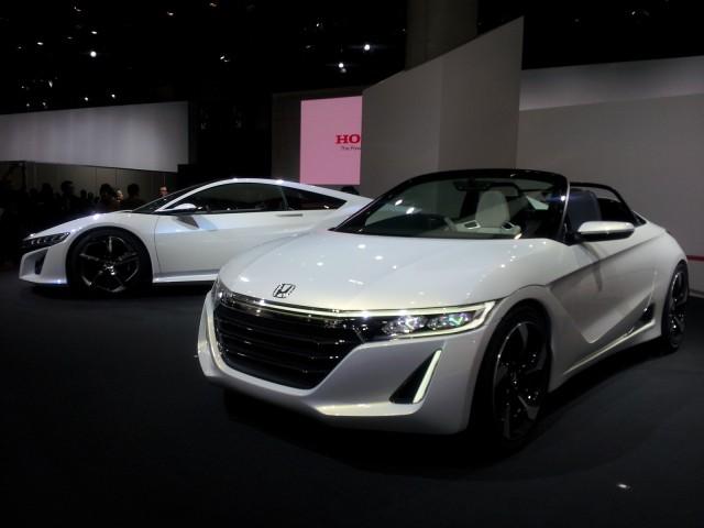 Honda S660 Concept at 2013 Tokyo Motor Show