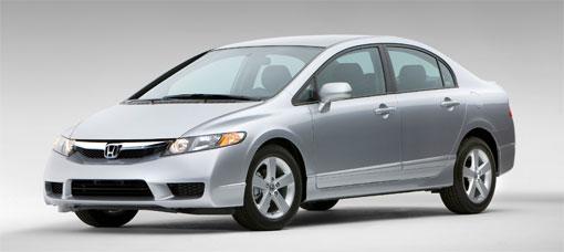 Honda unveils 2009 Civic and Civic Hybrid