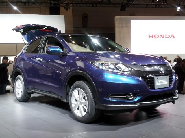 Honda Vezel (Japanese market model) at 2013 Tokyo Motor Show