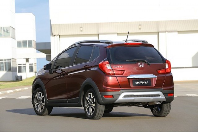 Honda WR-V (Indian-market version)