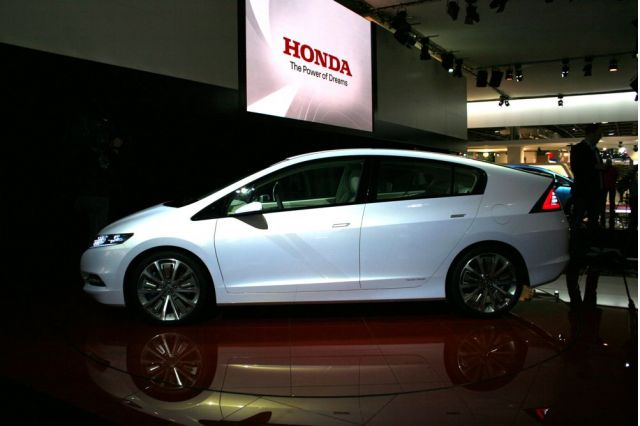 2010 Honda Insight (2008 Paris auto show)