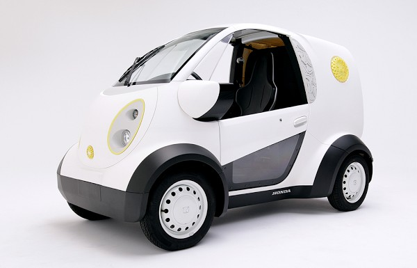 Kabuku and Honda have created a 3D printed car