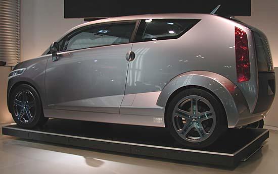 Honda Bulldog 2001 tokyo concept