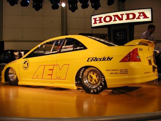 Honda Civic Dragster, SEMA Auto Show