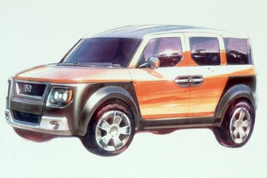 Honda Concept Suv