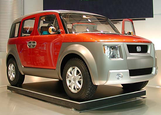 Honda Model X concept Tokyo 2001