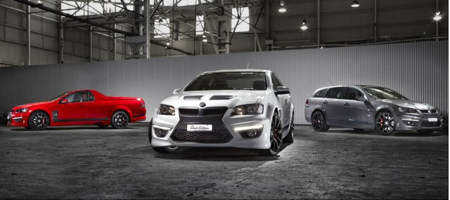 HSV Black Edition range