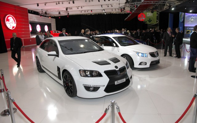 HSV stand at the 2012 Australian Motor Show