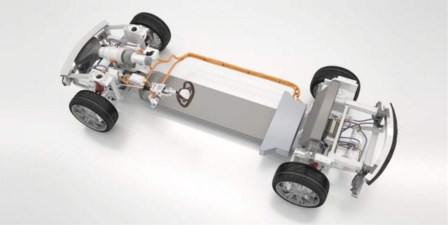 Hybrid Kinetic's microturbine-based extended-range electric powertrain