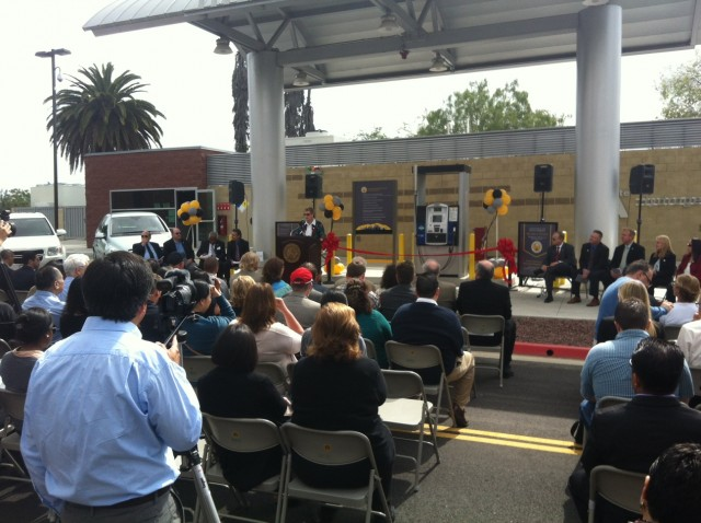 Hydrogen fueling station at California State University, Los Angeles