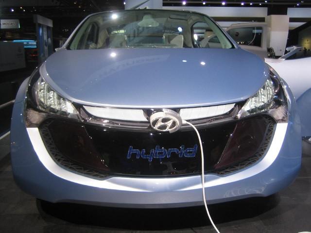 Hyundai Blue-Will Concept, 2010 Detroit Auto Show