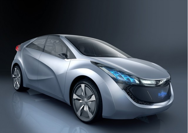 Hyundai Blue-Will plug-in hybrid concept, Seoul Motor Show, April 2009