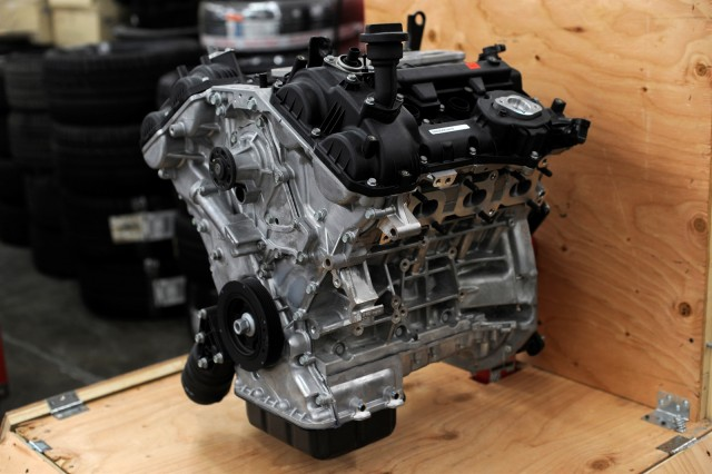 Hyundai crate engine, SEMA 2013