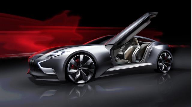 Hyundai HND-9 concept, 2013 Seoul Motor Show