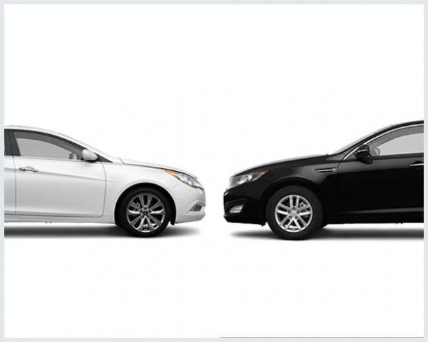 Hyundai Sonata Vs. Kia Optima