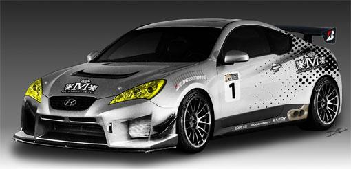 Hyundai to show custom Genesis Coupe at SEMA