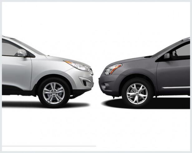 Hyundai Tucson Vs. Nissan Rogue