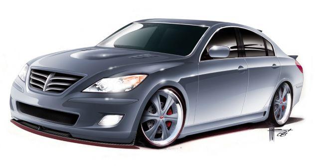 2008 Hyundai Genesis RKSport Concept