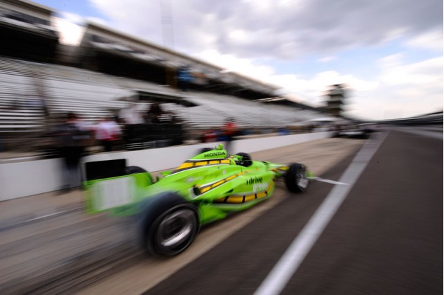 I Drive Green racecar