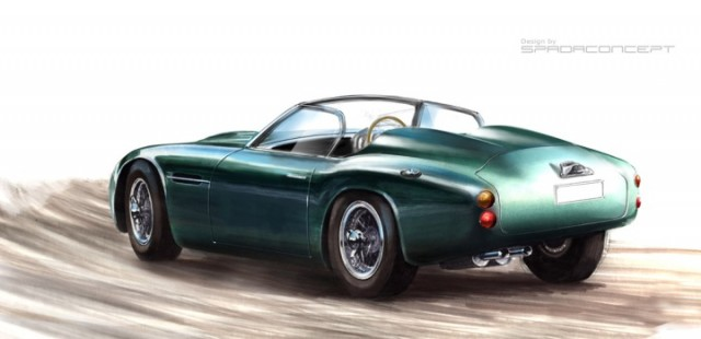Icon's rendering of its DB4 GT Zagato Reformer