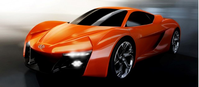 IED Turin and Hyundai's PassoCorto sports car concept