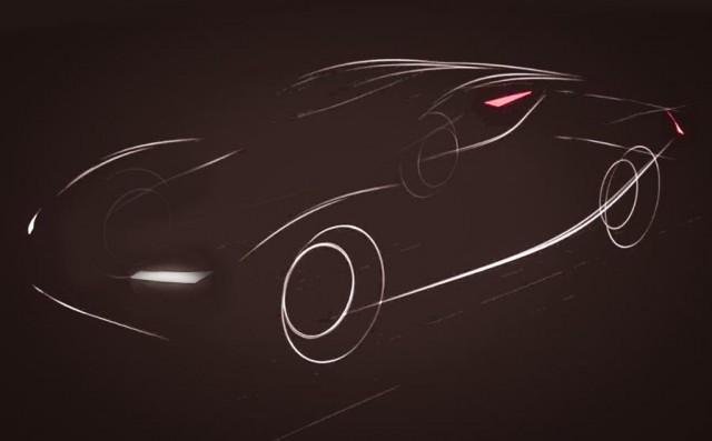 Image of a car on the Atieva website