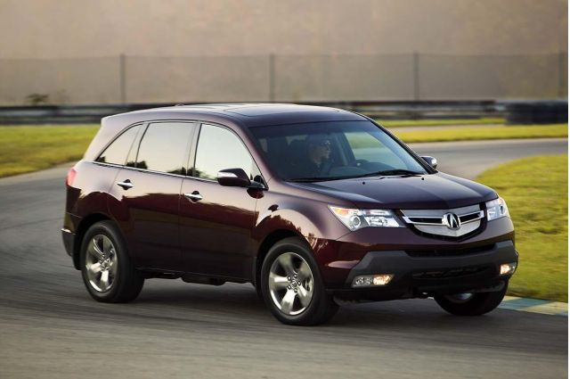 2008 acura mdx vs 2008 volvo xc90 the car connection. Black Bedroom Furniture Sets. Home Design Ideas