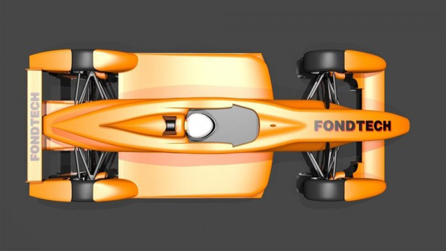 FondTech E-11 electric race car prototype