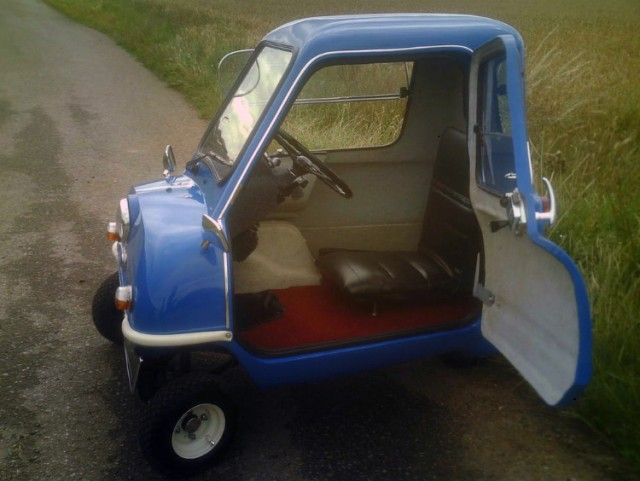 The Bamby P50 microcar. Image: Bamby Cars Limited
