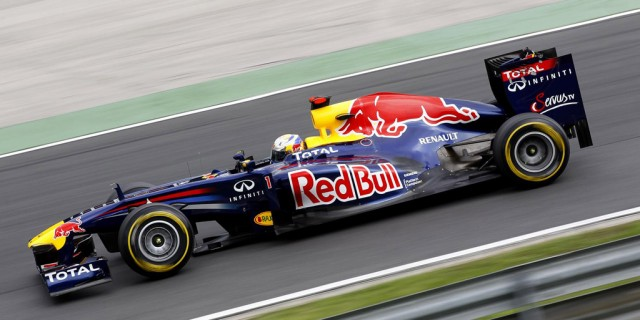 Red Bull Racing at the 2011 Formula 1 Italian GP