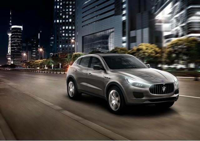 Maserati Kubang SUV