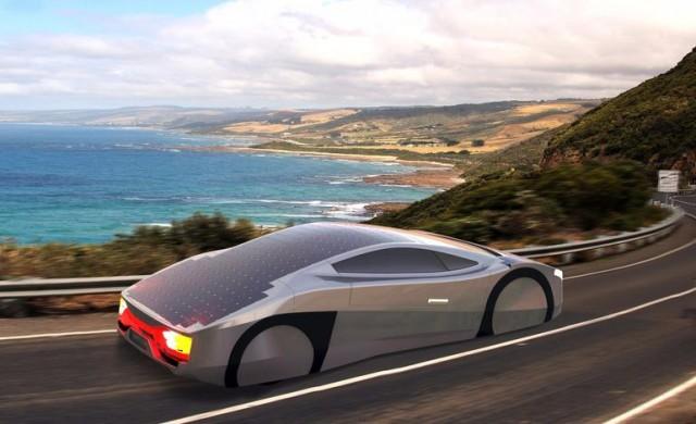 Immortus solar-electric car