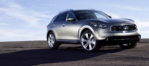 Infiniti: diesels available in Europe by 2010