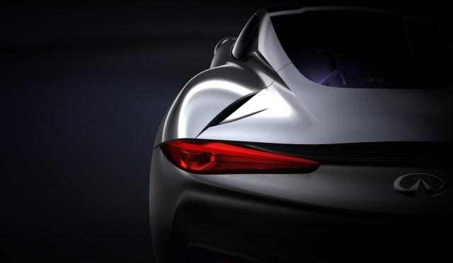Infiniti electric sports car concept teaser