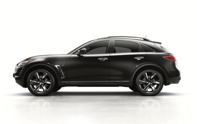Black Qx70 >> 2015 Infiniti QX50 Priced From $35,995, 2015 QX70 From $46,845