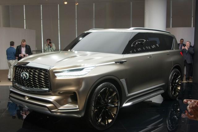 Infiniti QX80 Monograph concept, 2017 New York auto show