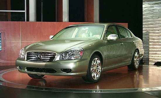 Inifiniti Q45, 2000 New York Auto Show