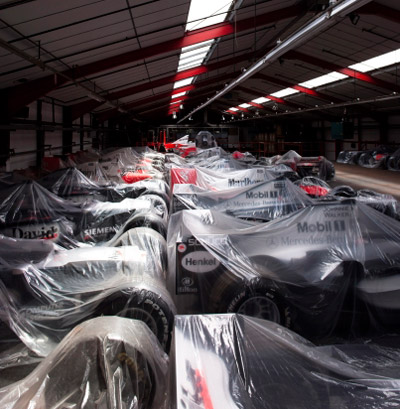 Inside McLaren's 'Unit 2'