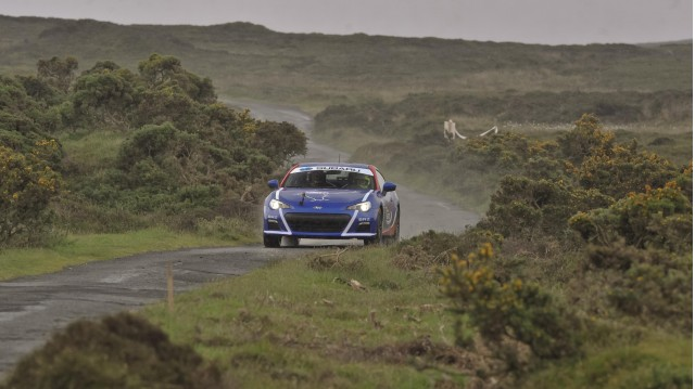 Isle of Man 2013 Subaru BRZ drive