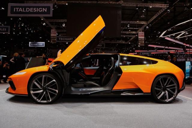Italdesign GTZero concept, 2016 Geneva Motor Show