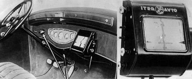Iter Avto navigation system from 1930 - Image courtesy London Media