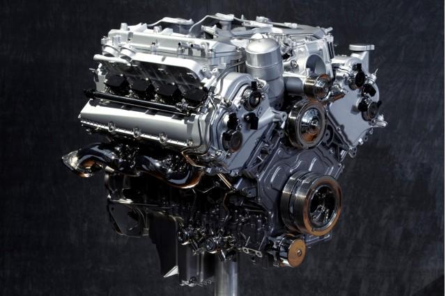 Jaguar AJ133 Gen III 5.0-liter supercharged V-8