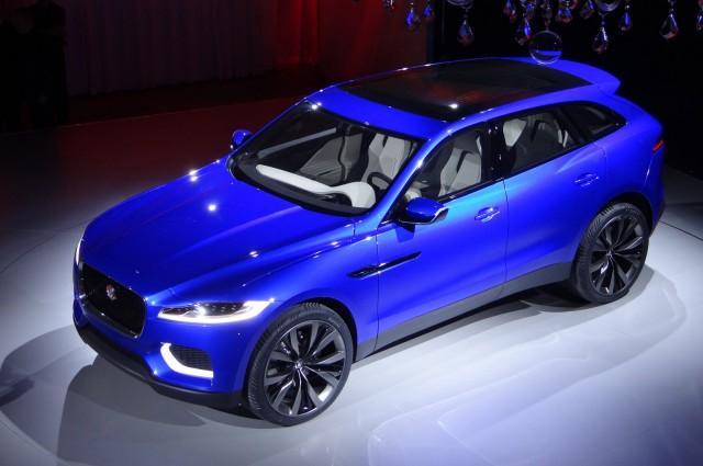 Jaguar C-X17 concept, 2013 Frankfurt Auto Show