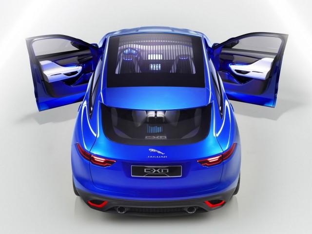 Jaguar C-X17 crossover concept leaked